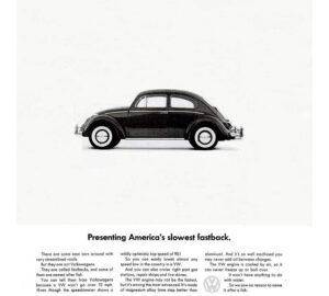 "Рекламні кампанії ""Volkswagen Beetle"""
