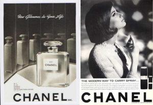 """Рекламні кампанії """"Chanel"""""""