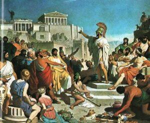 Перші професійні рекламники періоду Античності