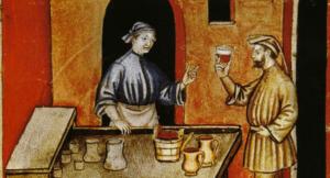 Розвиток реклами в Середньовіччі